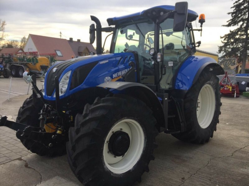 Traktor des Typs New Holland T6.180 AC Stufenlos 250Std. 175PS 6 Zylinder 50km/h FL FH FZ, Gebrauchtmaschine in Amerbach (Bild 3)