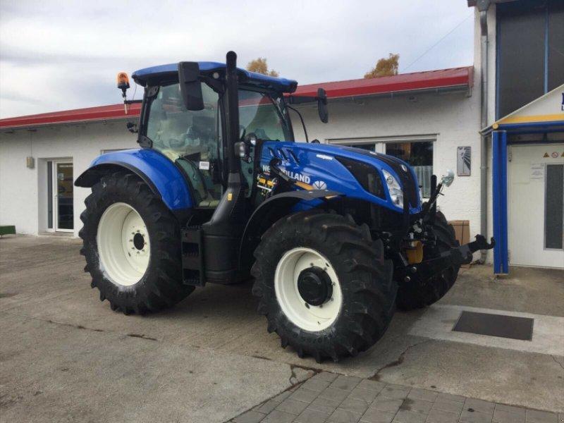 Traktor des Typs New Holland T6.180 AC Stufenlos 250Std. 175PS 6 Zylinder 50km/h FL FH FZ, Gebrauchtmaschine in Amerbach (Bild 4)