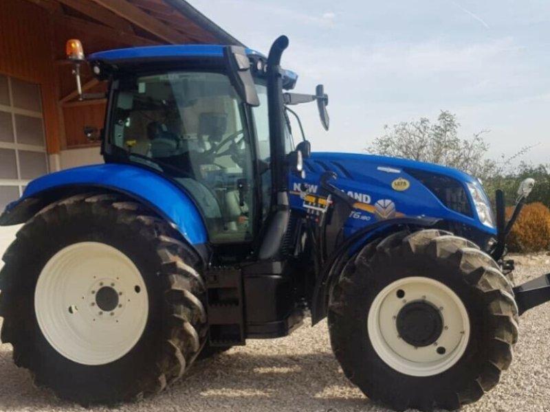 Traktor des Typs New Holland T6.180 AC Stufenlos 250Std. 175PS 6 Zylinder 50km/h FL FH FZ, Gebrauchtmaschine in Amerbach (Bild 5)