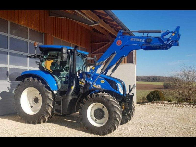 Traktor des Typs New Holland T6.180 AC Stufenlos 250Std. 175PS 6 Zylinder 50km/h FL FH FZ, Gebrauchtmaschine in Amerbach (Bild 6)
