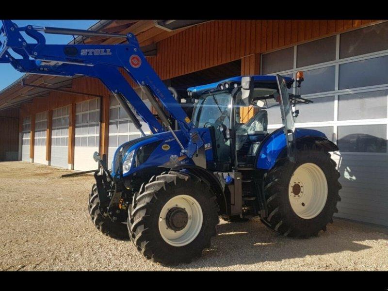 Traktor des Typs New Holland T6.180 AC Stufenlos 250Std. 175PS 6 Zylinder 50km/h FL FH FZ, Gebrauchtmaschine in Amerbach (Bild 7)