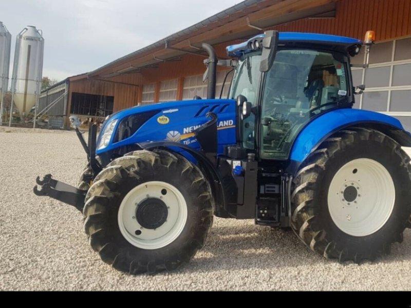 Traktor des Typs New Holland T6.180 AC Stufenlos 250Std. 175PS 6 Zylinder 50km/h FL FH FZ, Gebrauchtmaschine in Amerbach (Bild 8)