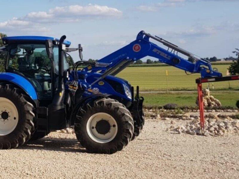 Traktor des Typs New Holland T6.180 AC Stufenlos 250Std. 175PS 6 Zylinder 50km/h FL FH FZ, Gebrauchtmaschine in Amerbach (Bild 10)