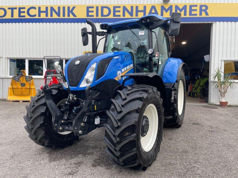 Traktor des Typs New Holland T6.180 Auto Command SideWinder II (Stage V), Neumaschine in Burgkirchen (Bild 1)