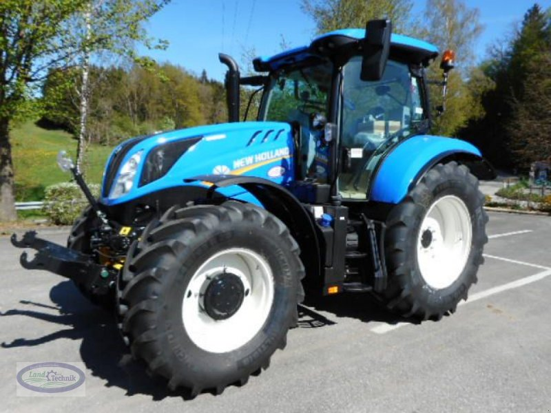 Traktor des Typs New Holland T6.180 Deluxe, Vorführmaschine in Münzkirchen (Bild 1)