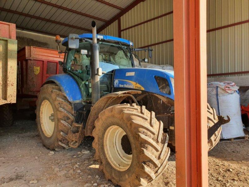 Traktor typu New Holland T7040, Gebrauchtmaschine w CHAUMONT (Zdjęcie 1)