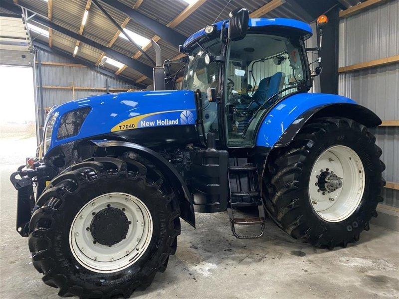 Traktor типа New Holland T7040, Gebrauchtmaschine в Vejle (Фотография 1)