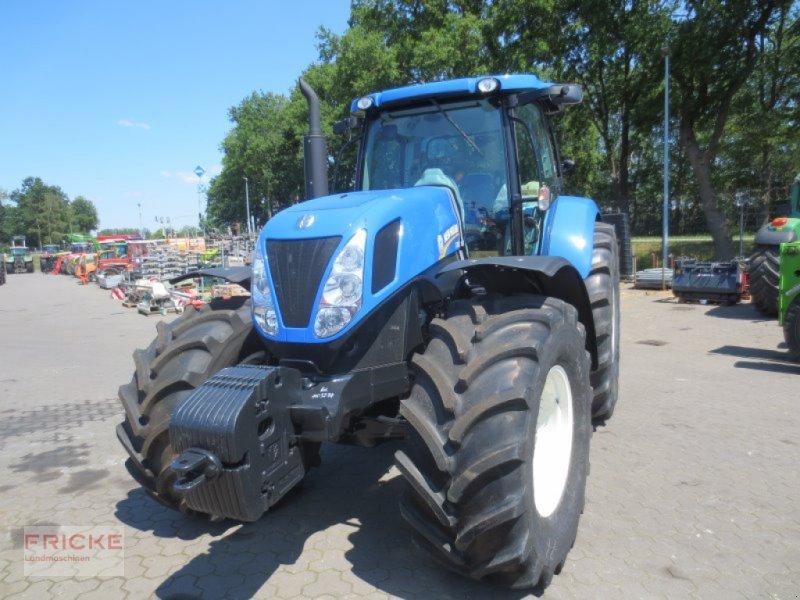 Traktor des Typs New Holland T7060, Gebrauchtmaschine in Bockel - Gyhum (Bild 1)