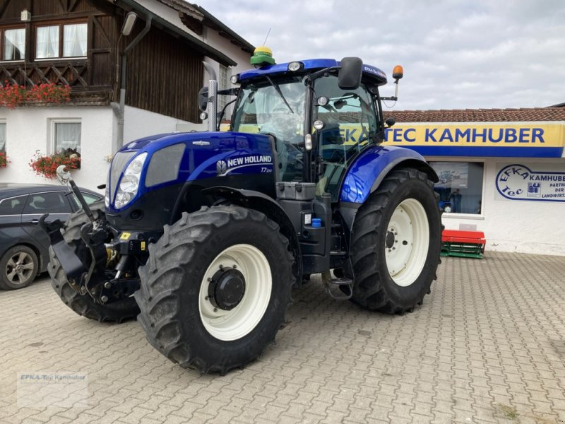 Traktor типа New Holland T7.200 Auto Command, Gebrauchtmaschine в Erlbach (Фотография 1)
