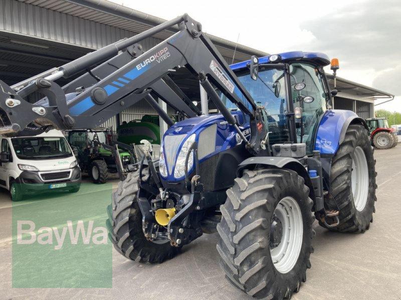 Traktor des Typs New Holland T7.200, Gebrauchtmaschine in Großweitzschen  (Bild 1)