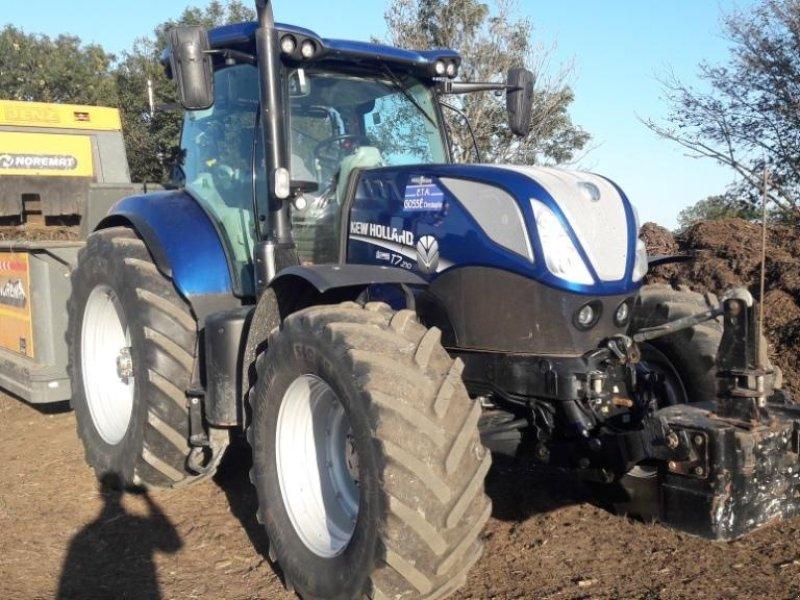 Traktor типа New Holland T7.210 AC T4B, Gebrauchtmaschine в CONDE SUR VIRE (Фотография 1)