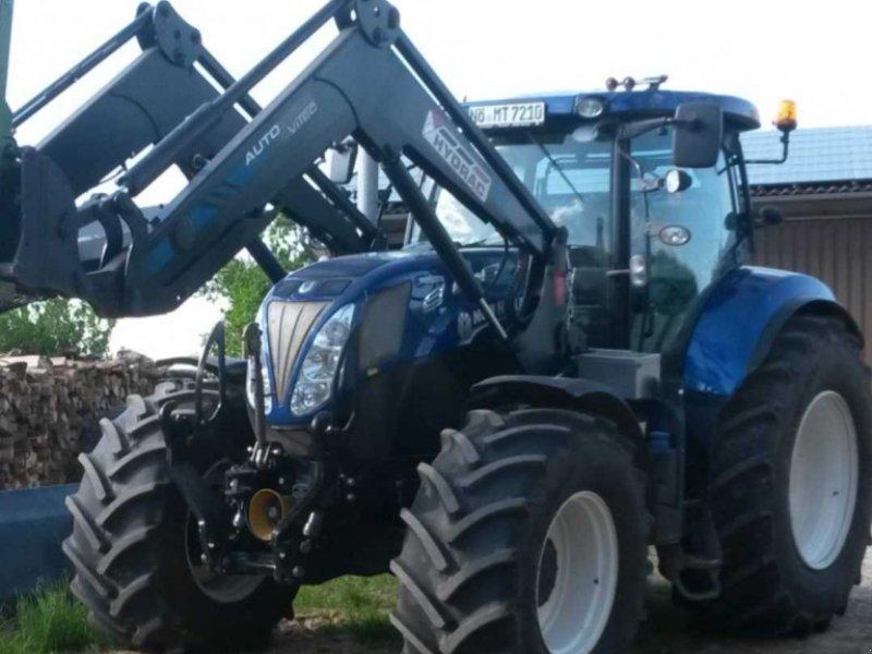 Traktor tip New Holland T7.210 AC, Gebrauchtmaschine in Wallerstein (Poză 1)