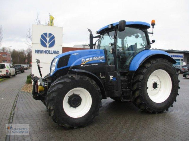 Traktor des Typs New Holland T7.210 AutoCommand SuperSteer Achse, Gebrauchtmaschine in Altenberge (Bild 1)