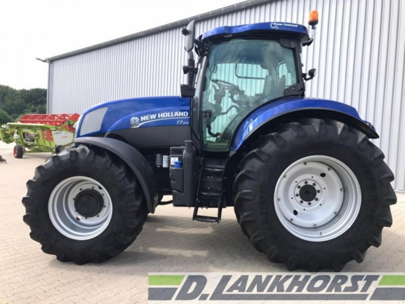 Traktor des Typs New Holland T7.210, Gebrauchtmaschine in Emsbüren (Bild 2)