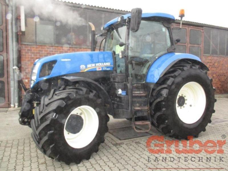 Traktor des Typs New Holland T7.220 AC, Gebrauchtmaschine in Ampfing (Bild 1)