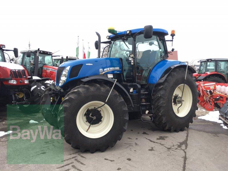 Traktor du type New Holland T7.250 AC mit JD SF3000 Lenksystem, Gebrauchtmaschine en Dinkelsbühl (Photo 1)