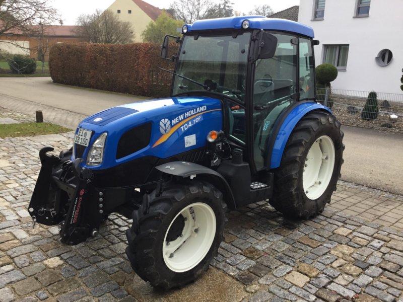 Traktor des Typs New Holland TD4.70F, Gebrauchtmaschine in Mindelstetten (Bild 1)