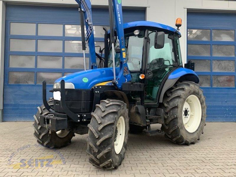 Traktor des Typs New Holland TD5010, Gebrauchtmaschine in Lindenfels-Glattbach (Bild 1)