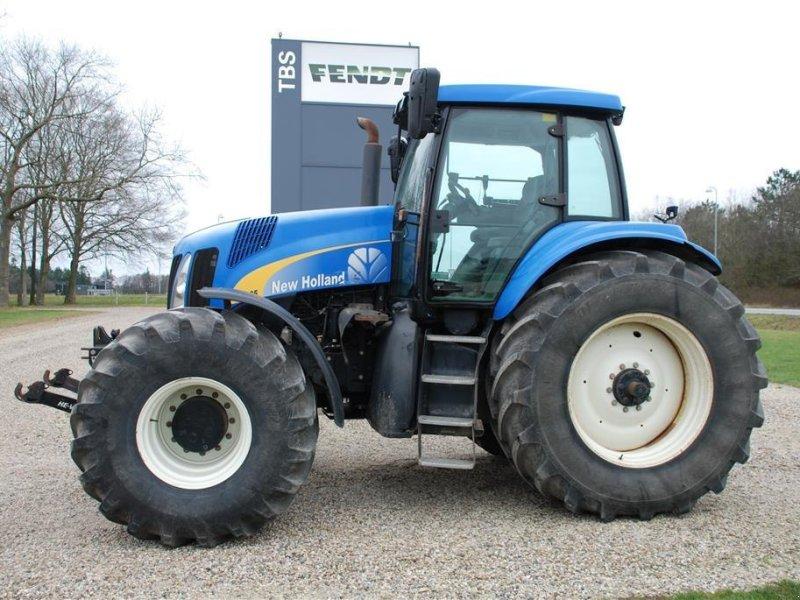 Traktor a típus New Holland TG285 med frontlift på  Front PTO, Gebrauchtmaschine ekkor: Grindsted (Kép 1)