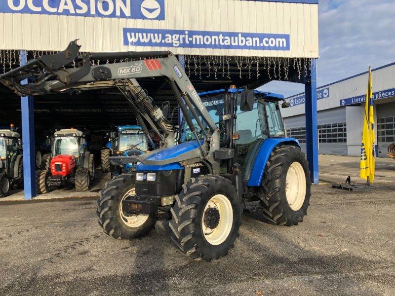 Traktor типа New Holland TL 90 + CHARGEUR, Gebrauchtmaschine в Montauban (Фотография 1)