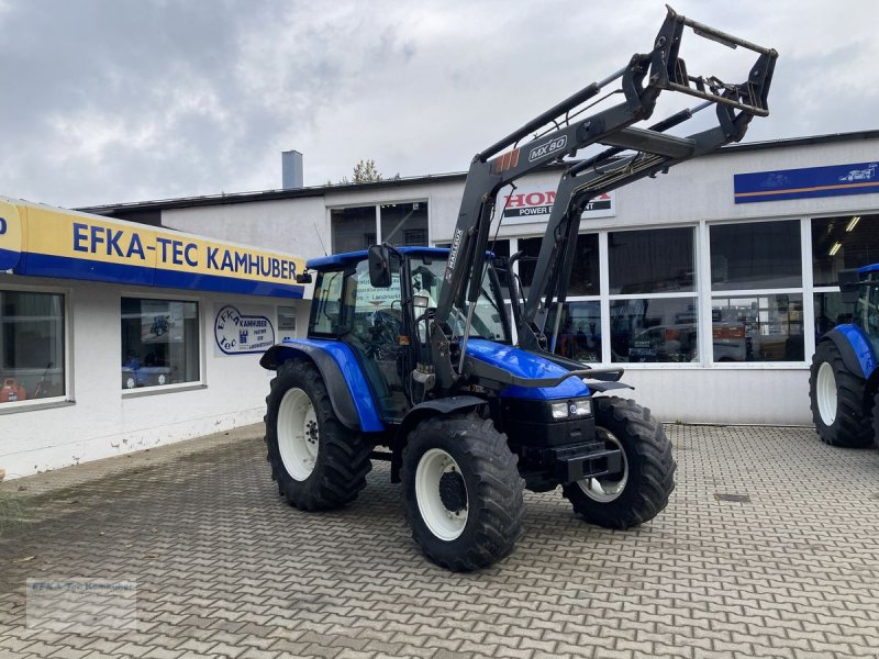 Traktor типа New Holland TL100 (4WD), Gebrauchtmaschine в Erlbach (Фотография 1)