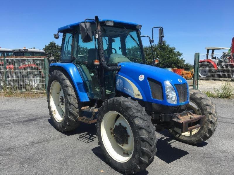 Traktor типа New Holland TL100A, Gebrauchtmaschine в Saint suplice le ver (Фотография 2)