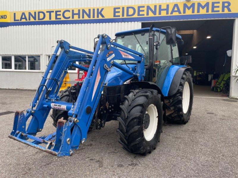 Traktor des Typs New Holland TL80 (4WD), Gebrauchtmaschine in Burgkirchen (Bild 1)