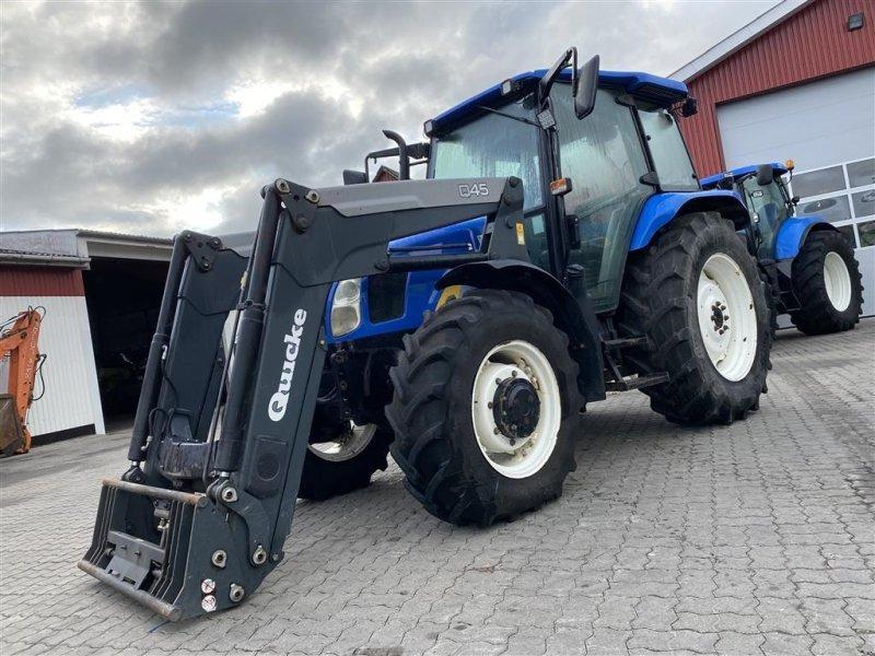 Traktor typu New Holland TL90A KUN 4500 TIMER OG KOBLINGSFRI VENDEGEAR VED RATTET!, Gebrauchtmaschine w Aalestrup (Zdjęcie 1)