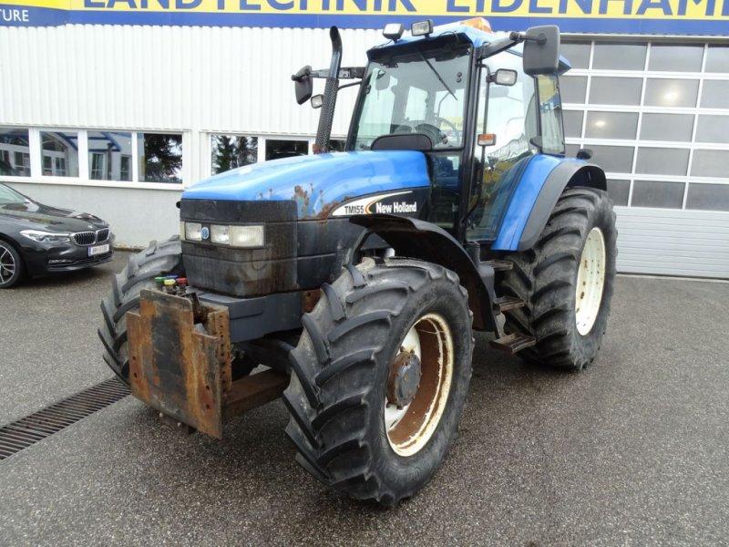 Traktor des Typs New Holland TM 125, Gebrauchtmaschine in Burgkirchen (Bild 1)