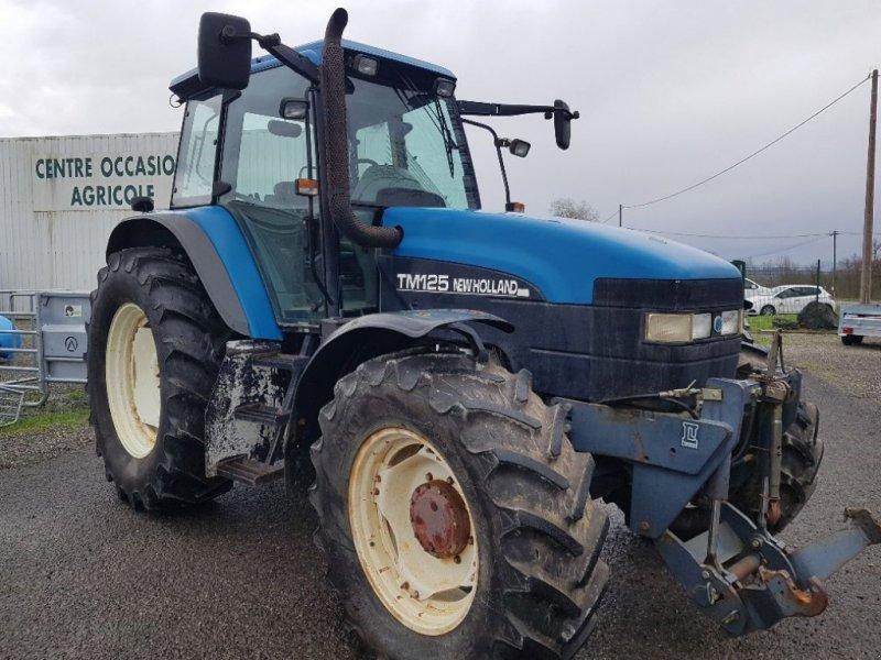 Traktor типа New Holland TM 125, Gebrauchtmaschine в CASTETIS (Фотография 1)