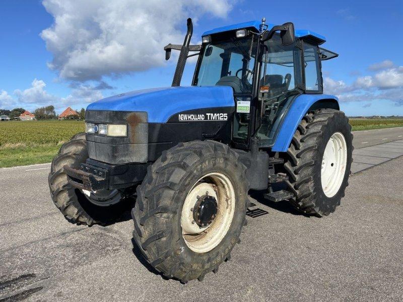 Traktor типа New Holland TM 125, Gebrauchtmaschine в Callantsoog (Фотография 1)