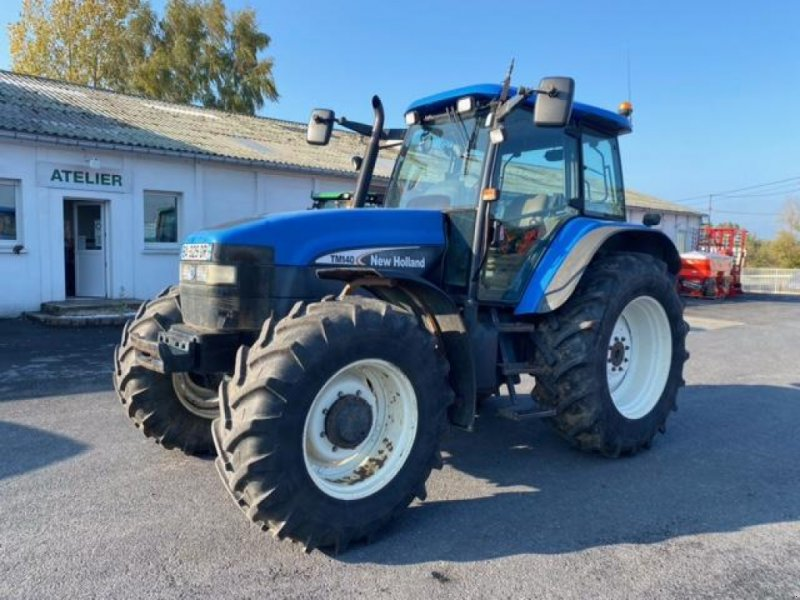 Traktor типа New Holland TM 140, Gebrauchtmaschine в Wargnies Le Grand (Фотография 1)
