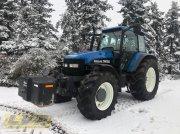 Traktor des Typs New Holland TM 150 + Frontgewicht, Gebrauchtmaschine in Steinau-Rebsdorf