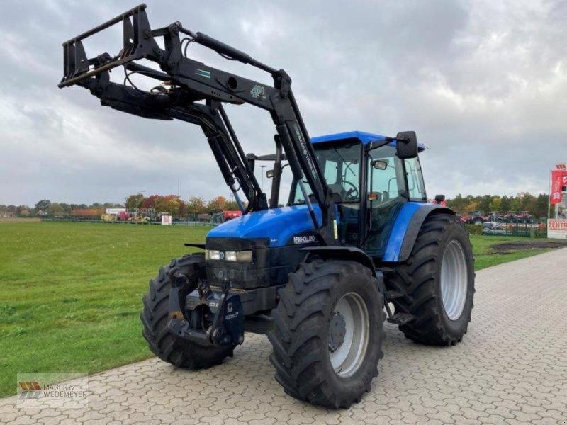 Traktor типа New Holland TM 150 MIT FRONTLADER, Gebrauchtmaschine в Oyten (Фотография 1)