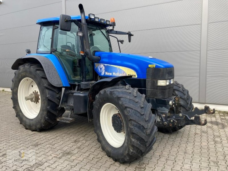 Traktor des Typs New Holland TM 190, Gebrauchtmaschine in Neuhof - Dorfborn (Bild 1)