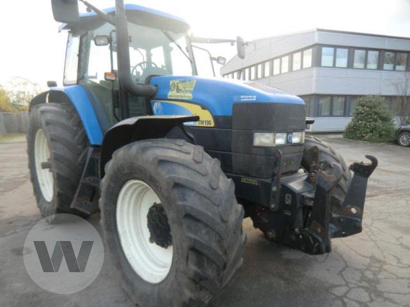 Traktor des Typs New Holland TM 190, Gebrauchtmaschine in Niebüll (Bild 1)
