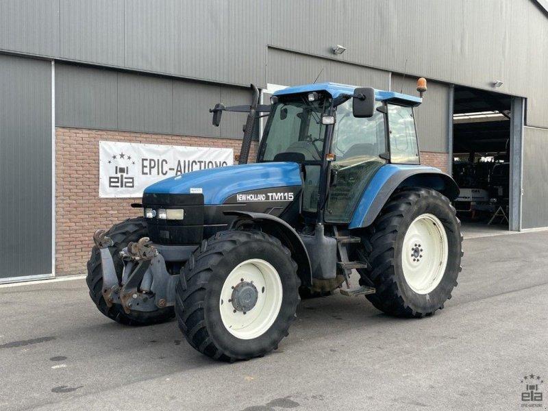 Traktor типа New Holland TM115, Gebrauchtmaschine в Leende (Фотография 1)