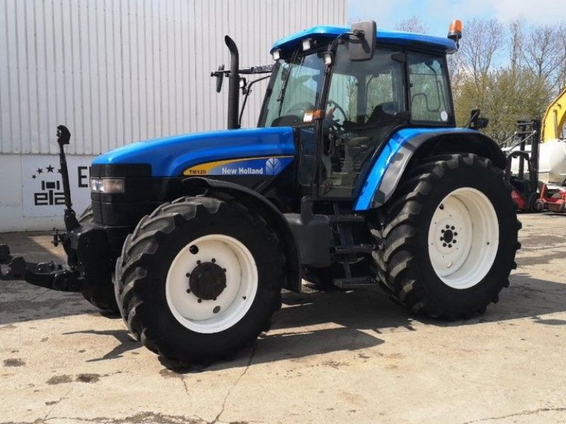 Traktor typu New Holland TM120, Gebrauchtmaschine w Leende (Zdjęcie 1)