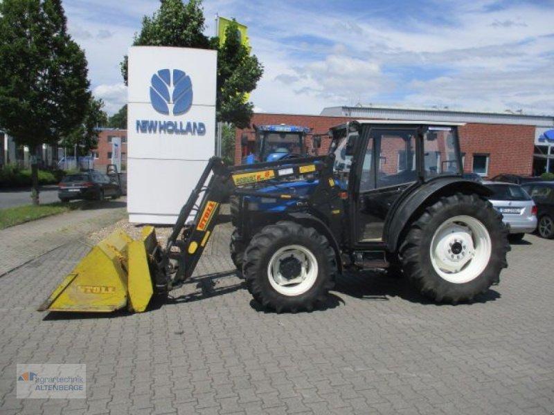 Traktor des Typs New Holland TN 75D, Gebrauchtmaschine in Altenberge (Bild 1)