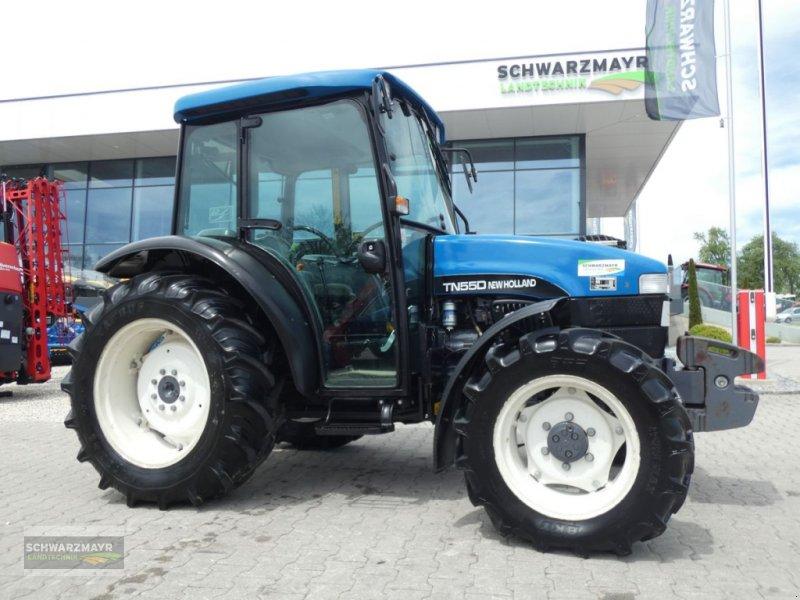 Traktor des Typs New Holland TN-D 55 A, Gebrauchtmaschine in Aurolzmünster (Bild 1)