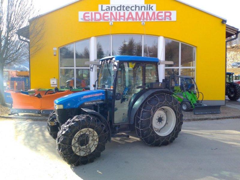 Traktor des Typs New Holland TN-D 70, Gebrauchtmaschine in Burgkirchen (Bild 1)