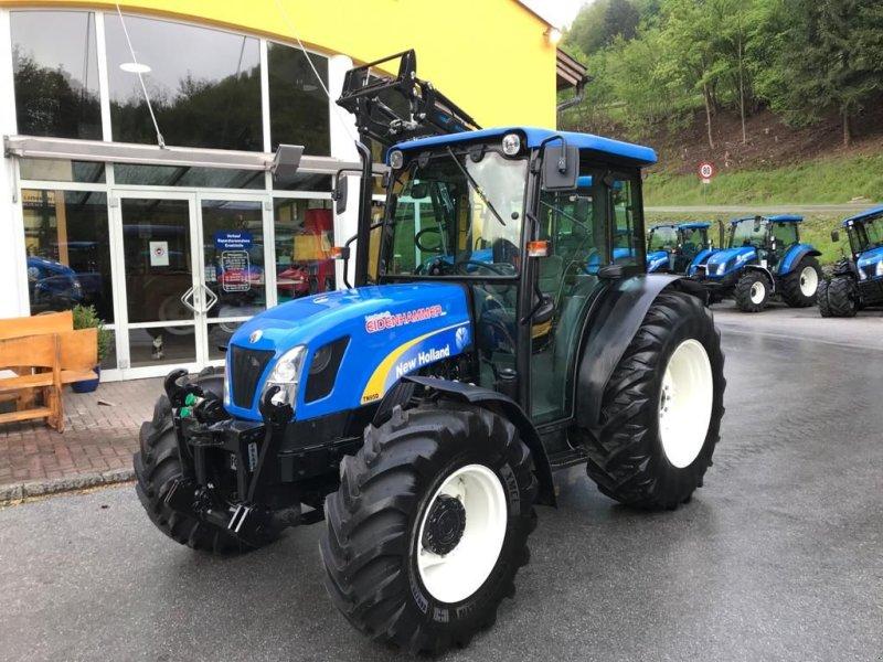 Traktor des Typs New Holland TN-D 85 A, Gebrauchtmaschine in Burgkirchen (Bild 1)