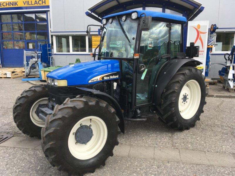 Traktor des Typs New Holland TN-S 75 A DeLuxe, Gebrauchtmaschine in Villach (Bild 1)