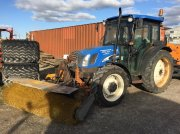 Traktor del tipo New Holland TN75DA med 200 cm fejemaskine, Gebrauchtmaschine en Roskilde