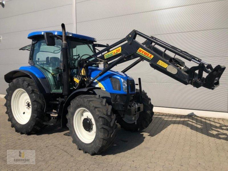 Traktor des Typs New Holland TS 100 A, Gebrauchtmaschine in Neuhof - Dorfborn (Bild 1)