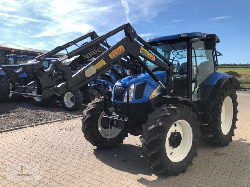 Traktor des Typs New Holland TS 100 A, Gebrauchtmaschine in Neuhof - Dorfborn (Bild 2)