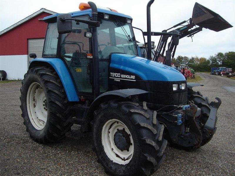 Traktor типа New Holland TS 100 med frontlift, Gebrauchtmaschine в Ejstrupholm (Фотография 1)