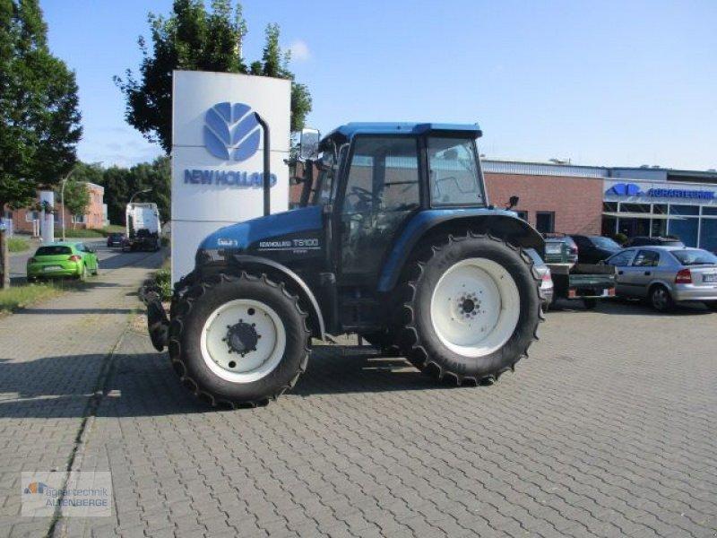Traktor des Typs New Holland TS 100, Gebrauchtmaschine in Altenberge (Bild 1)