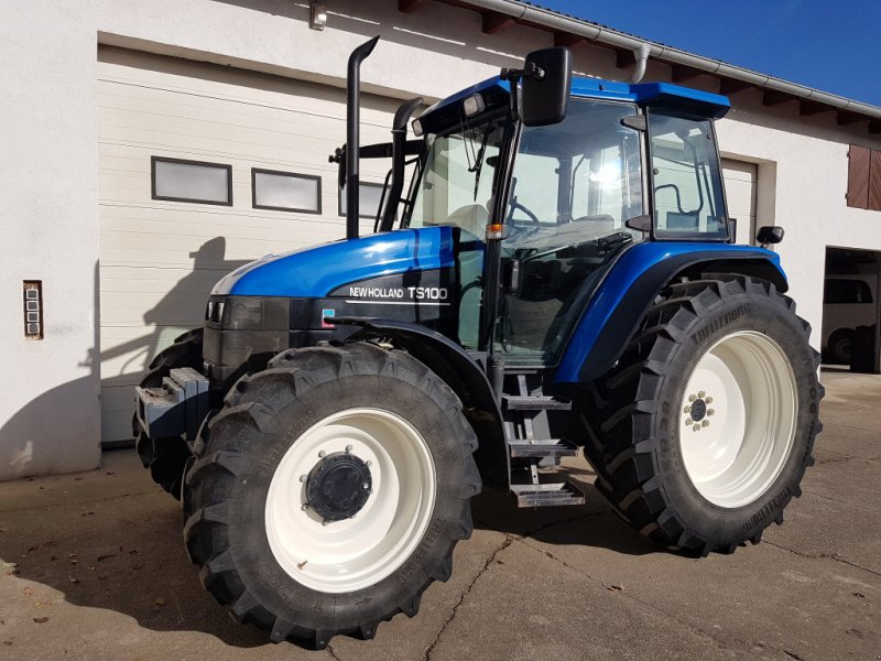 Traktor des Typs New Holland TS 100, Gebrauchtmaschine in Margarethen am Moos (Bild 1)