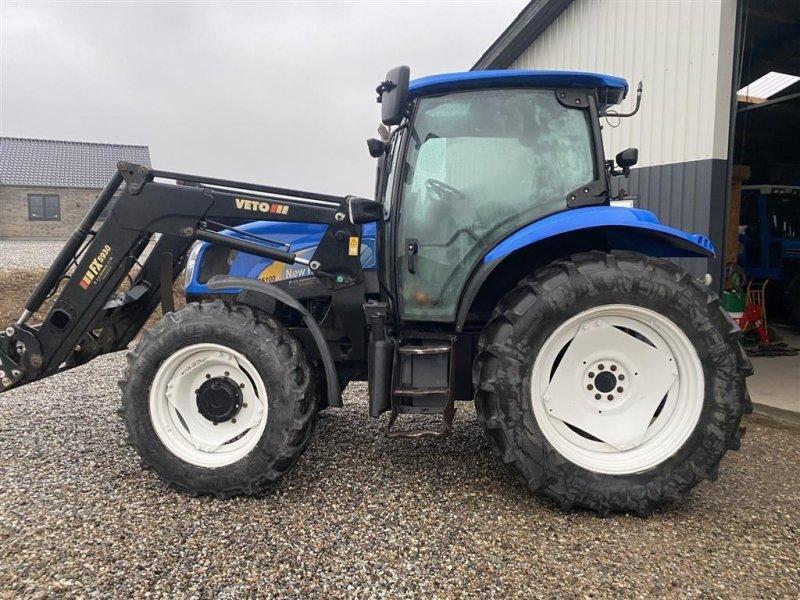 Traktor a típus New Holland TS 100A Med frontlæsser, Gebrauchtmaschine ekkor: Vejle (Kép 1)